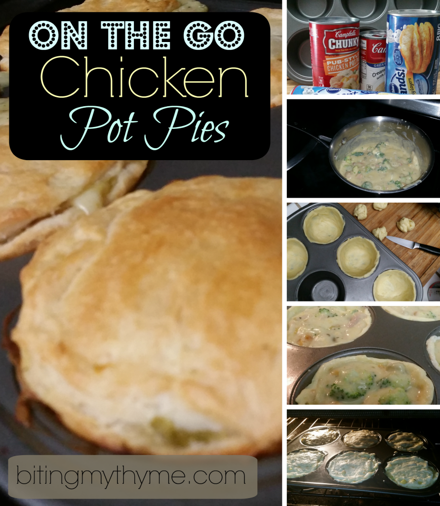 On the Go Chicken Pot Pie