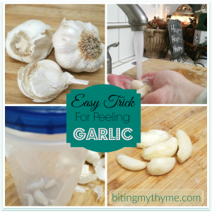 Kitchen Trick Garlic Peel